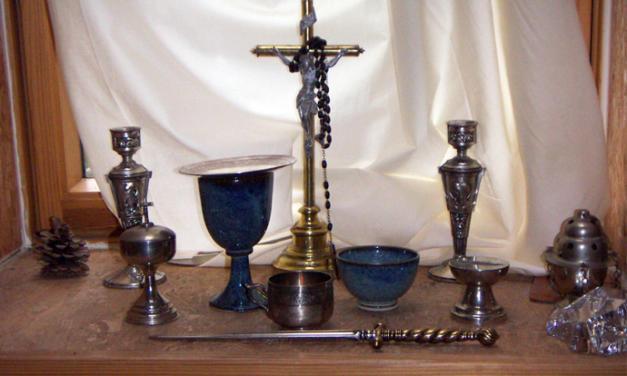 Consécration d'un autel