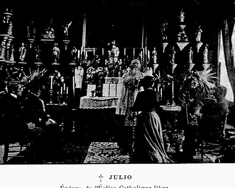 L'abbé Julio et l'Eglise Catholique Libre