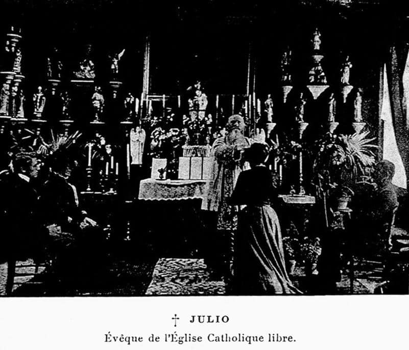L'abbé Julio et l'Eglise Catholique Libre